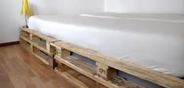 bild für schlafzimmer wir bauen ein bett aus einwegpaletten möbel