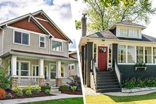 New Craftsman Style Homes by Would You Rather New Or Vintage Craftsman Homes Real
