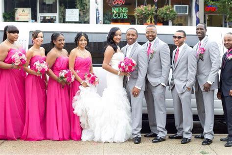 Hot Pink Wedding Bridal Party Fuchsia Mermaid Dress