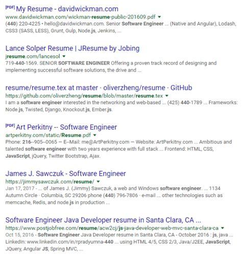 resume of j2ee