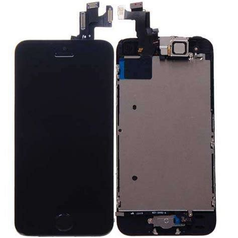 iphone  lcd screen display replacement iphone  black