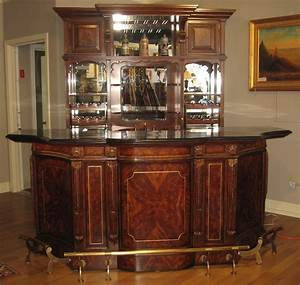 Top of the line empire style home bar luxury furniture for Home furniture for sale in uk