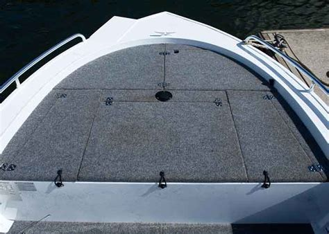 Fishing Boat Casting Deck by Aluminium Boat Floor Coverings