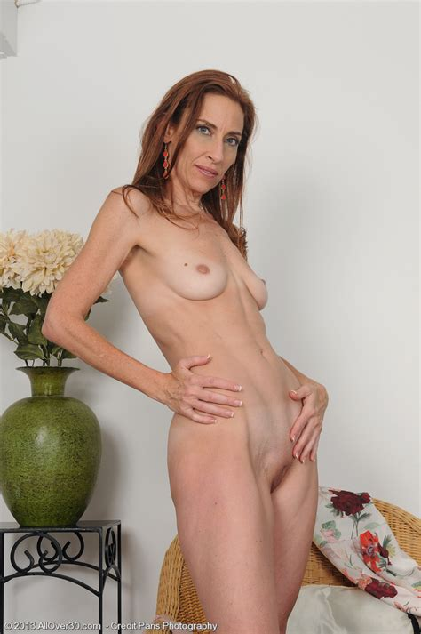 Redhead Blaze Betty Blaze Caress Her Perky Goodies Milf Fox