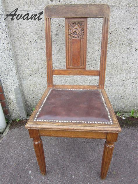 relooker chaise en bois relooker chaise en bois photos de conception de maison