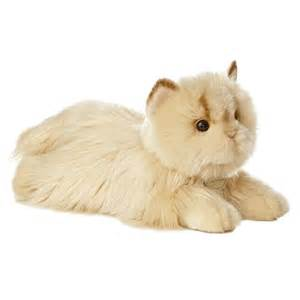 stuffed animal cats realistic stuffed cat 11 inch plush cat by