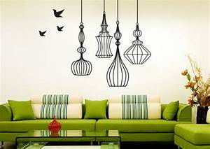 The various unique wall paint ideas as simple diy