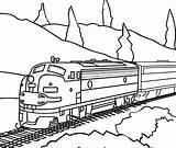 Train Caboose Coloring Printable Pages Drawing Express Polar Getdrawings sketch template