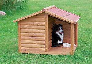 New medium dog pitched roof dog house covered terrace wood for Dog houses for medium dogs