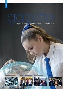 Brisbane Girls Grammar School Gazette, Autumn 2016 by ...