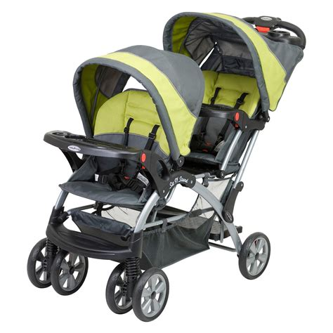 Baby Trend Sit N Stand Double Stroller Carbon