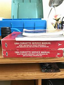 Fs  For Sale  1994 Service Manuals  U0026 2 Other Books   1