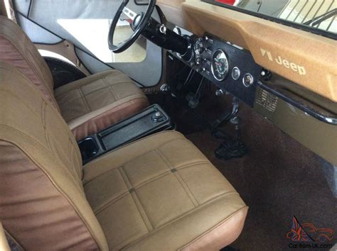 jeep golden eagle interior jeep cj golden eagle all original