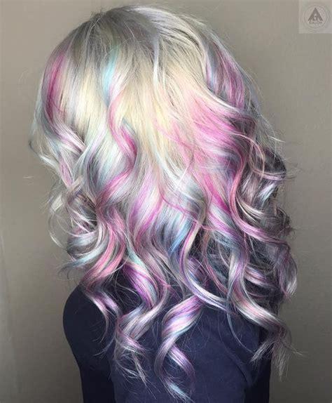 mermaid color hair 25 best ideas about mermaid hair colors on