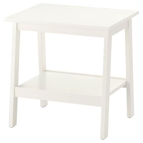 ikea küche beistelltisch lunnarp pedestal table white 55x45 cm ikea living room
