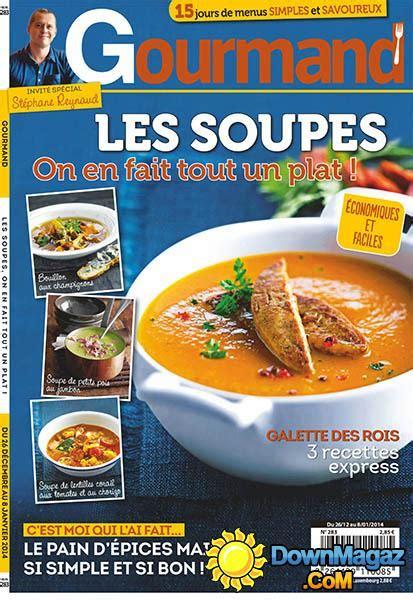 gourmand magazine cuisine gourmand 26 décembre 2013 no 283 pdf magazines magazines commumity