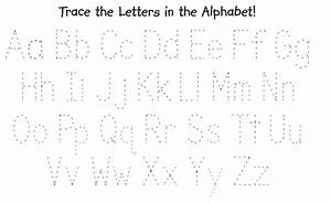 kindergarten alphabet tracing worksheets 23 free esl With traceable letters for kids