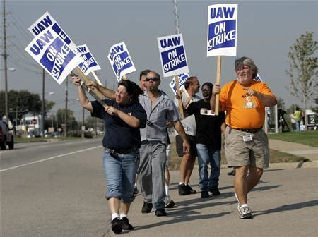 gm  uaw settle strike reuters