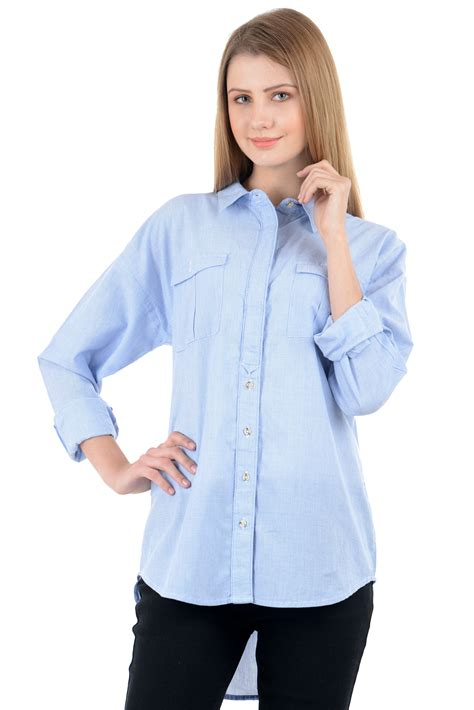 light blue blouse for women womens light blue shirt custom shirt