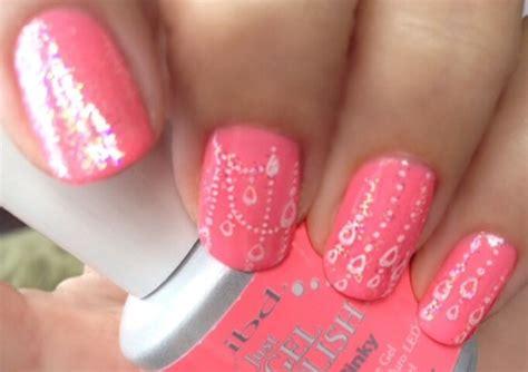 Pinky Nail Polish