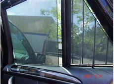 Sun Shade Net at Rear Door Panel for X5 E53 Xoutpostcom