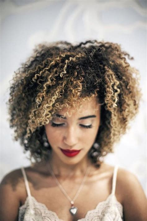 tips  coloring  natural hair  home curls