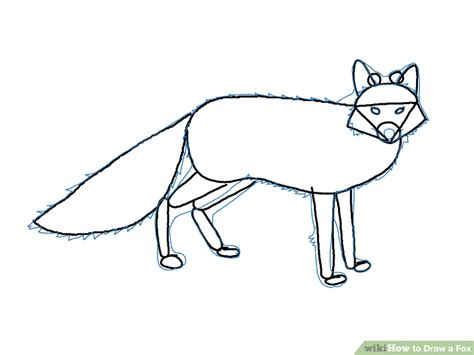 How To Draw A Boat Using Figure 8 by 4 Ways To Draw A Fox Wikihow