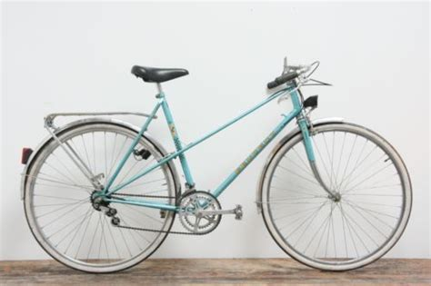 Peugeot Carbolite 103 by Peugeot Carbolite 103 Vintage Bike In Teal Blue