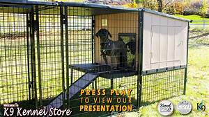 Ultimate dog kennel systems for the home and the for Dog kennel systems