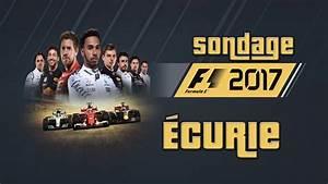 Ecurie F1 2017 : f1 2017 sondage curie ps4 info cha ne youtube ~ Medecine-chirurgie-esthetiques.com Avis de Voitures
