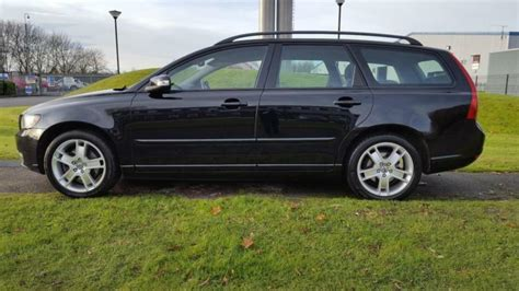 old car owners manuals 2008 volvo v50 instrument cluster 2008 volvo v50 se 2 0d black leather fsh feb 2018 mot ready to drive away today in newcastle