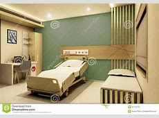Hospital Room Realistic 3D View Stock Illustration Image