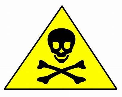 Poison Clipart Harmful Warning Sign Toxic Symbol