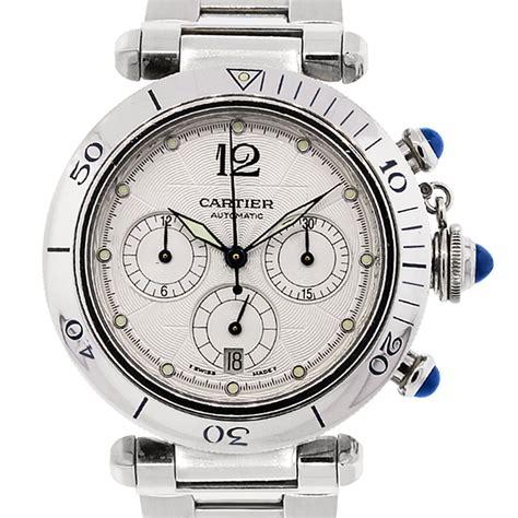 cartier pasha  chronograph dial skeleton