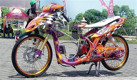 Foto Motor Drak Terkeren by Modifikasi Motor Drak