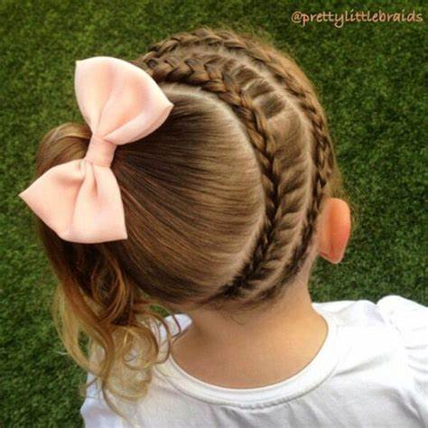 20 Cute Braided Hairstyles for Little Girls Hairstyles