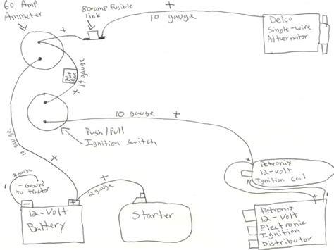 farmall m tractor wiring diagram wiring forums