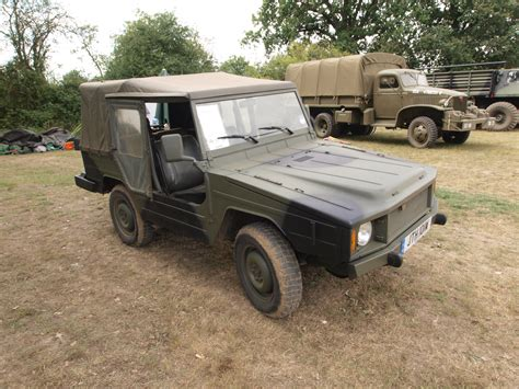 Vw Type 183 Iltis (german For European Polecat) (1980