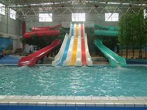 Indoor Swimming Pools With Slides Example - pixelmari.com