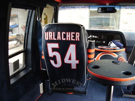 Auto Upholstery Chicago by Midwest Auto Tops Upholstery Chicago Bears
