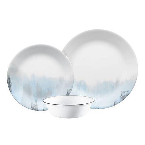 corelle vitrelle kitchen modern design dinnerware 12pc