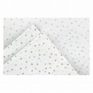 Papier De Soie Blanc : papier de soie blanc orn d 39 toiles en argent et dor ~ Farleysfitness.com Idées de Décoration