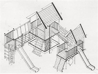 Jungle Gym Drawing Playground Equipment Getdrawings
