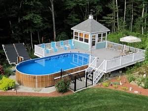 Amenagement Piscine Hors Sol : am nagement piscine de jardin id es et photos inspirantes ~ Preciouscoupons.com Idées de Décoration