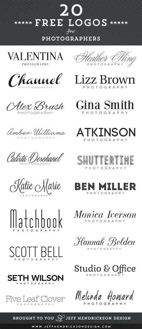 logos  photographers