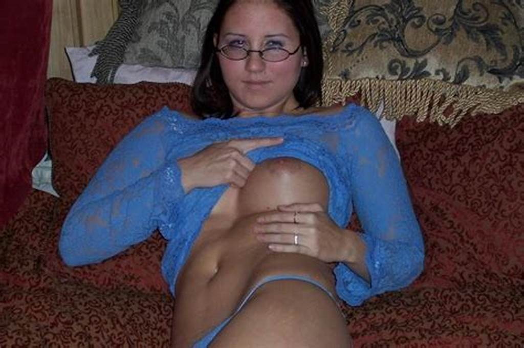 #Hot #College #Girl #With #Glasses #Rubbing #Pussy #And #Giving