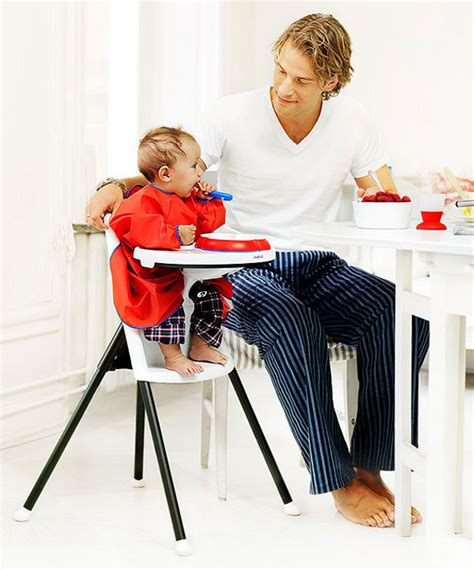 dine in style with the baby bjorn high chair