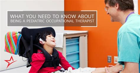 Pediatric Assistant by What To About Pediatric Occupational Therapy Assistants