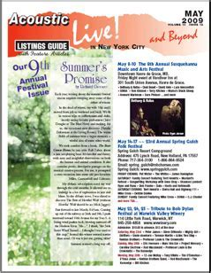 Our 9th Annual Festival Issue Summer's Promise by Richard
