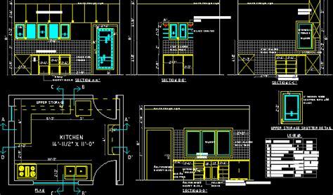 kitchen full details  autocad cad   kb